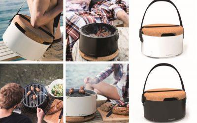 Mobiele design tafelbarbecue: gezellig, praktisch en stijlvol