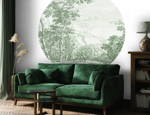 Vintage illustraties aan je muur met Daring Walls